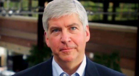 Former Michigan governor charged for his role in Flint water crisis