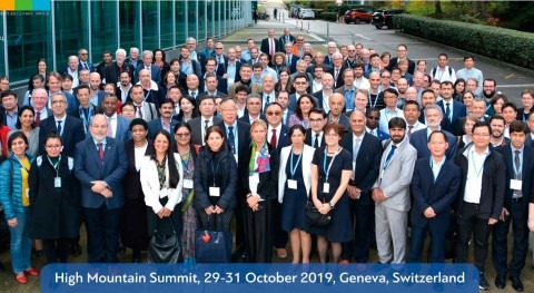 WMO's Mountain Summit issues call for action on climate change