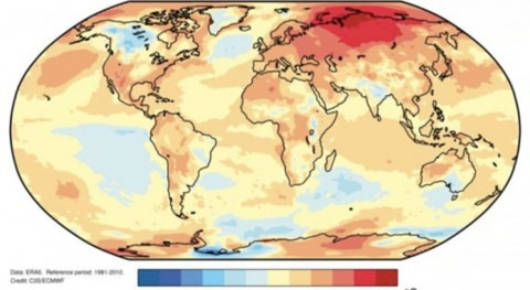 2020 on track to be one of three warmest years on record
