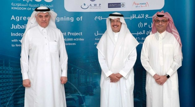 ACWA Power consortium signs Jubail 3A IWP investment deal