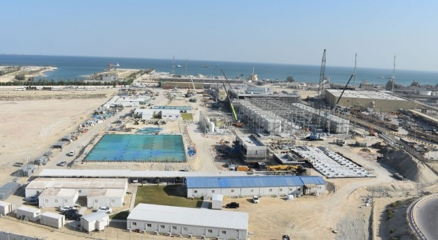 Construction of KSA SWCC's Al-Khobar 1 SWRO plant achieves 5M man-hours without injuries