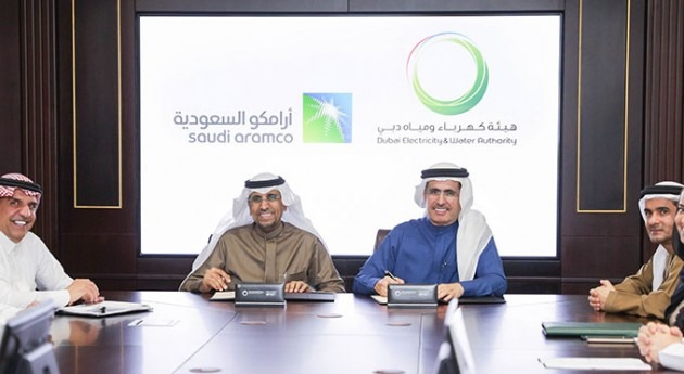 DEWA and Saudi Aramco sign MoU on water desalination and purification