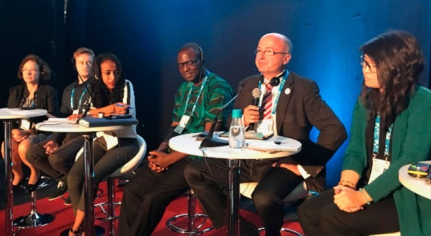Intergenerational dialogue at World Water Week explores youth engagement in water governance