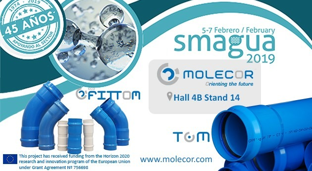 Molecor will participate in the new edition of Smagua 2019