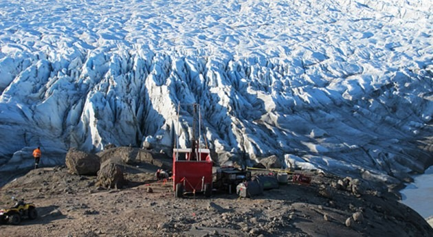 Greenland's groundwater changes with thinning ice sheet
