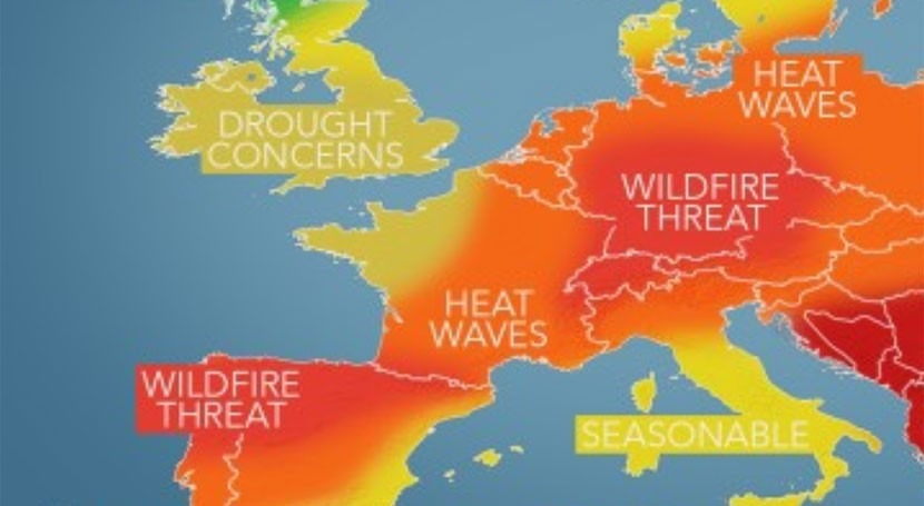 Heatwave 'completely obliterated' the record for Europe's hottest ever June