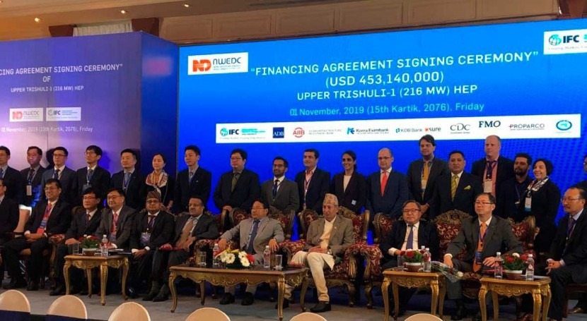 ADB signs $60 million private sector deal to build hydropower plant in Nepal