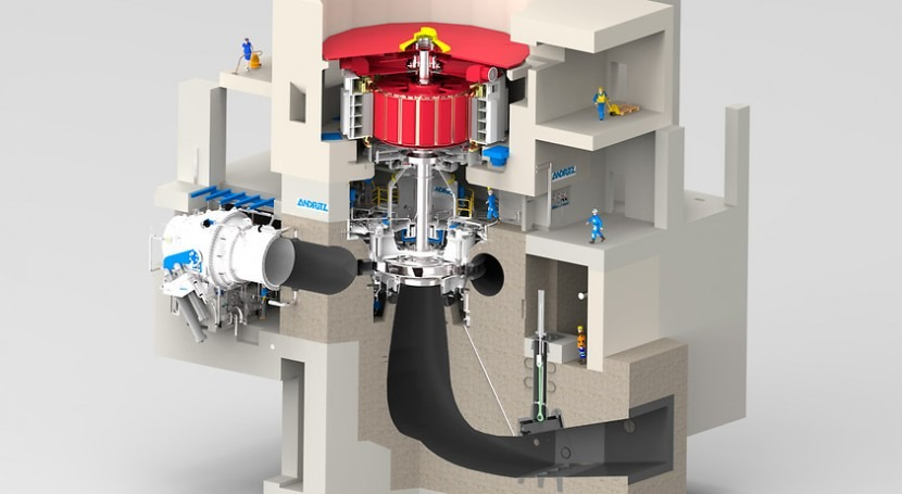 Andritz will provide China with four 350-MW pump turbine units
