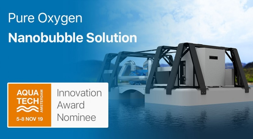 Lakes can breathe again: Introducing pure oxygen nanobubble solution