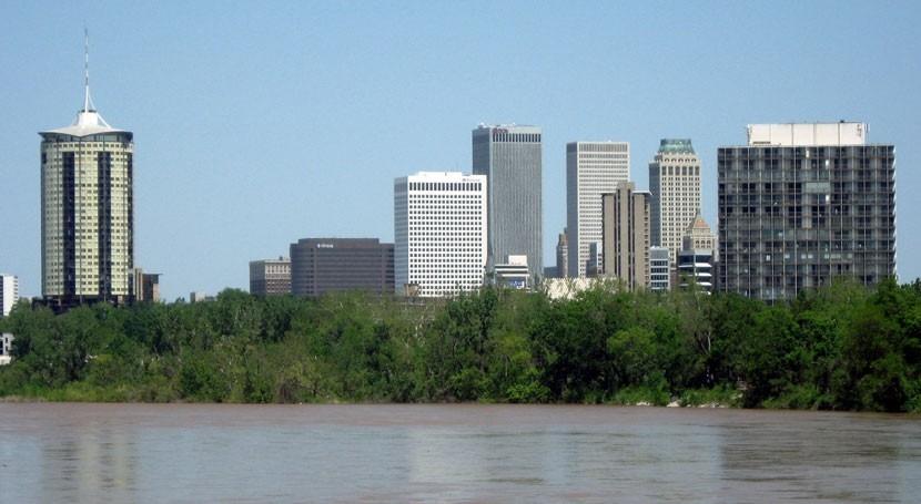 USGS crews measure record flooding in Oklahoma, USA