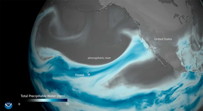 Atmospheric rivers drive western U.S. flood damages, says new study