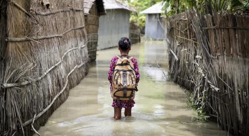 Climate change threatens one in three children in Bangladesh