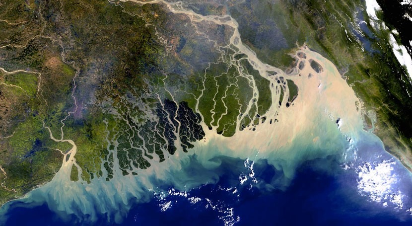 Image result for A better estimate of water-level rise in the Ganges delta