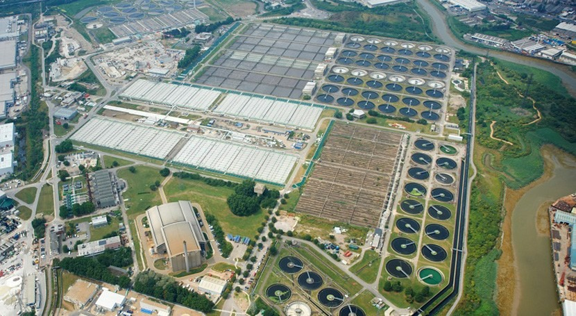 Thames Water awards major contract for Beckton sewage works upgrade