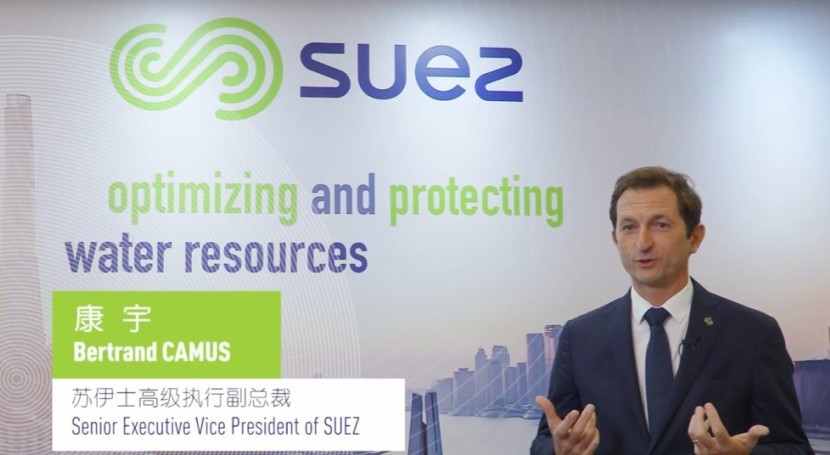 Bertrand Camus appointed new CEO of Suez