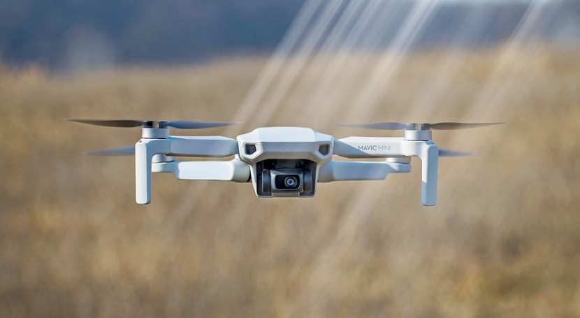 Drones launched to see if electricity enhance rainfall