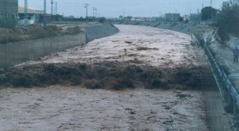 Despite raining less, the torrentiality of the Mediterranean watercourses has increased