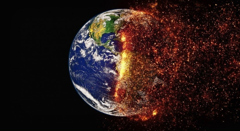 What is global climate change?