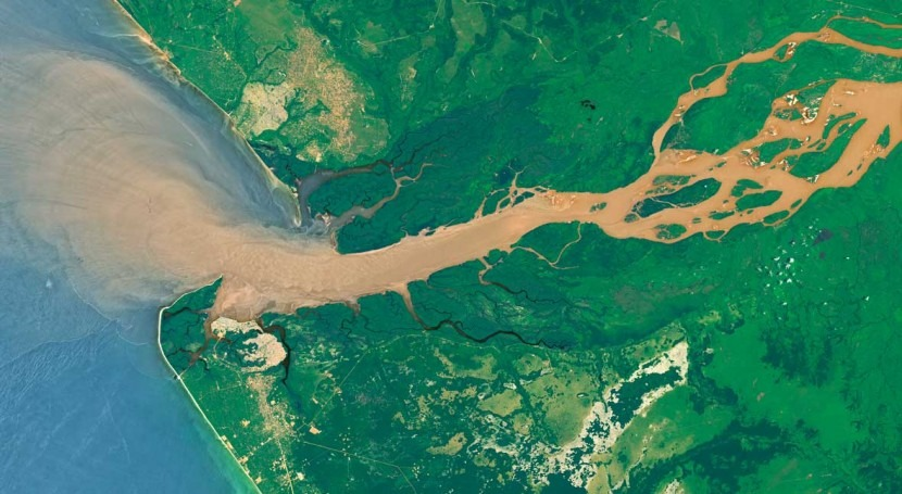 Congo River is major source of iron for the Southeast Atlantic