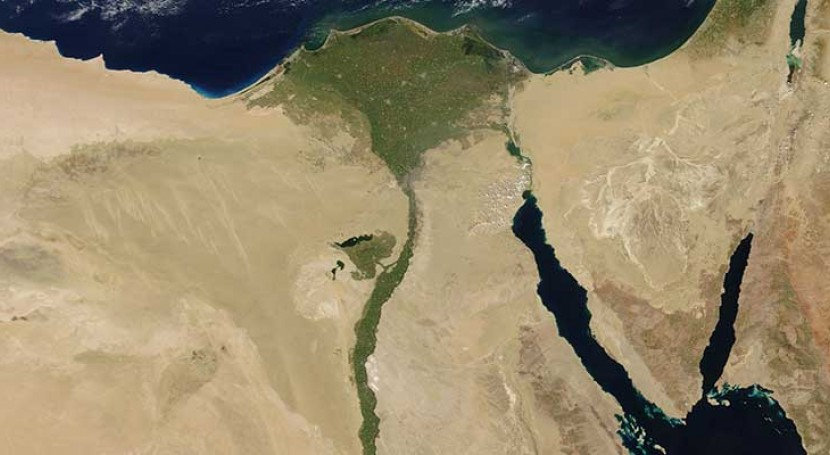 Desalination provides drinking water for Egypt's Nile Delta