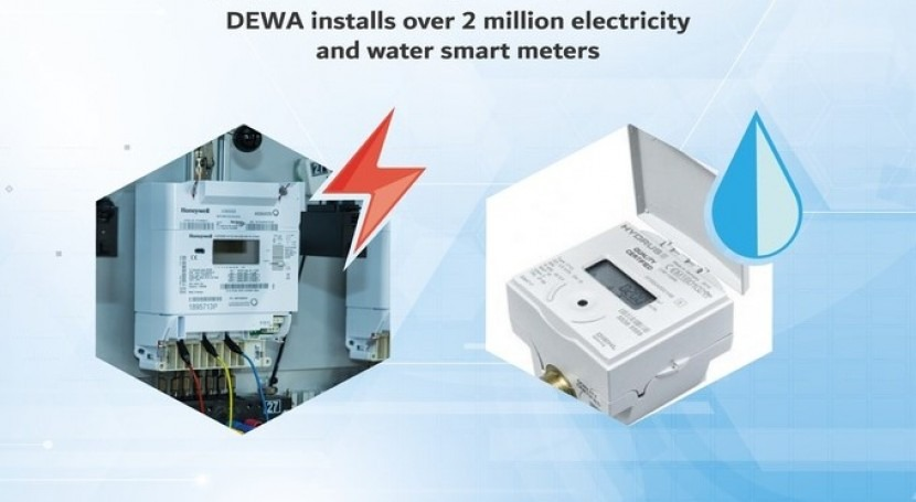 DEWA installs over 2 million electricity and water smart meters