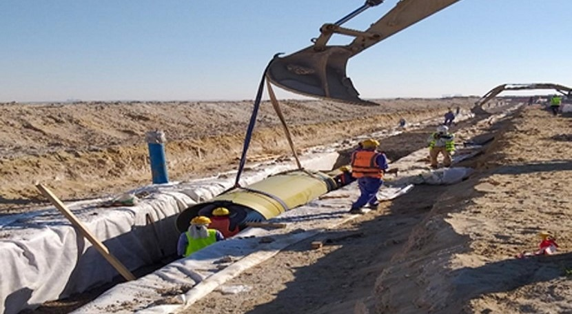 DEWA's AED 256 million water pipeline project reaches 96.4% completion