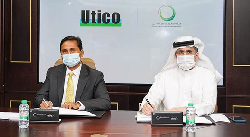 DEWA and Utico sign US$410 million water desalination deal