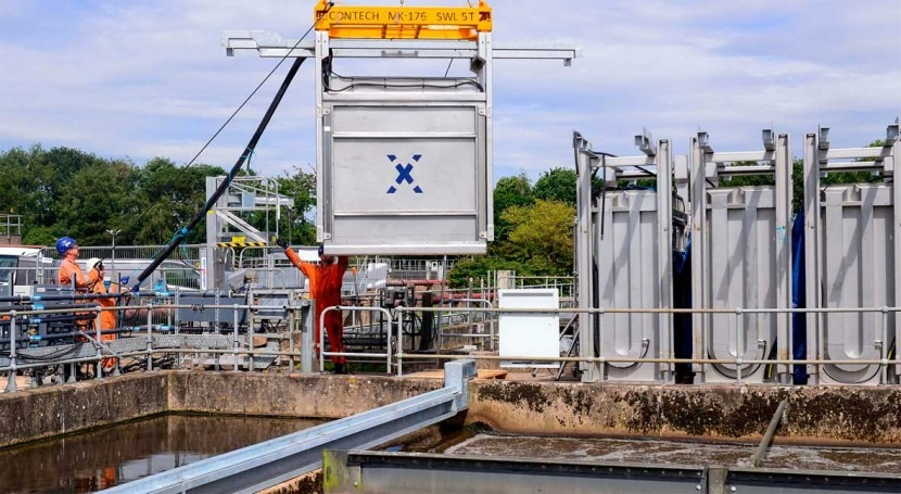 Severn Trent commissions the UK's largest MABR plant