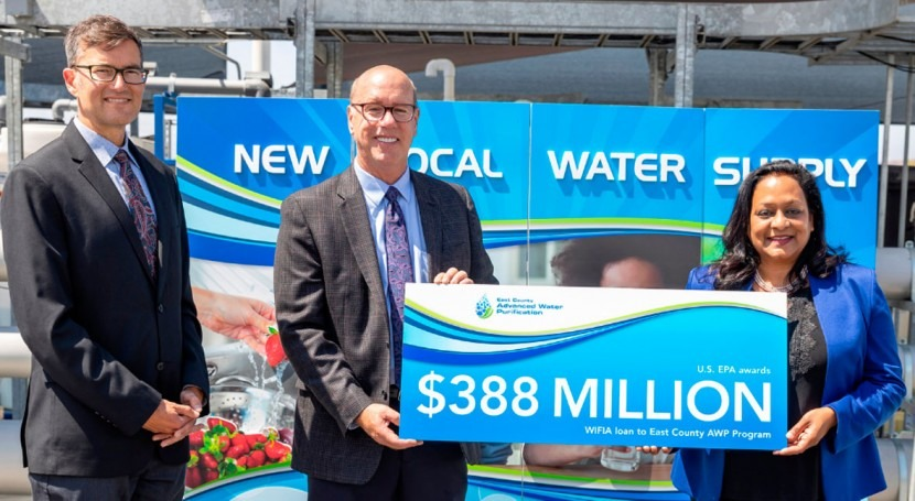 East County Advanced Water Purification program awarded $388 million WIFIA loan from EPA
