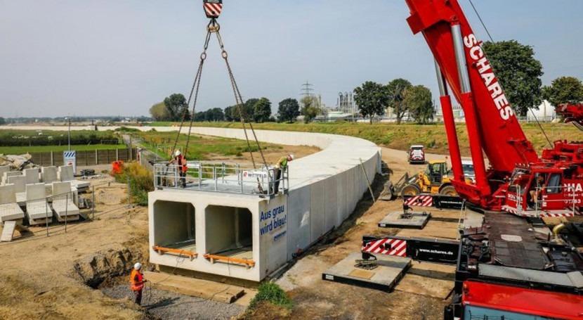 EIB grants additional loan for rehabilitation of the River Emscher