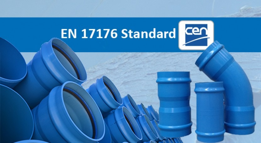 The first European standard, 17176, for PVC-O pressure pipes and fittings has been published