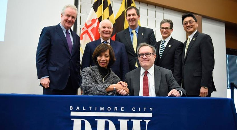 EPA provides $202 million loan to modernize Baltimore's wastewater infrastructure