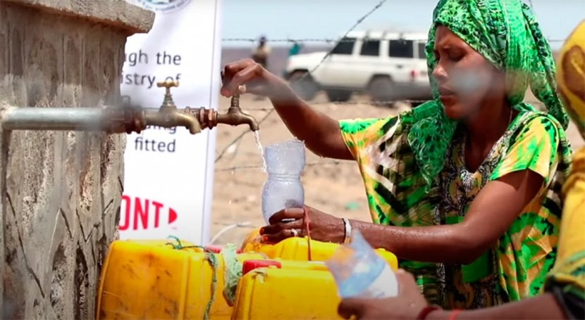 DuPont and USAID join forces to provide clean safe water in Ethiopian village