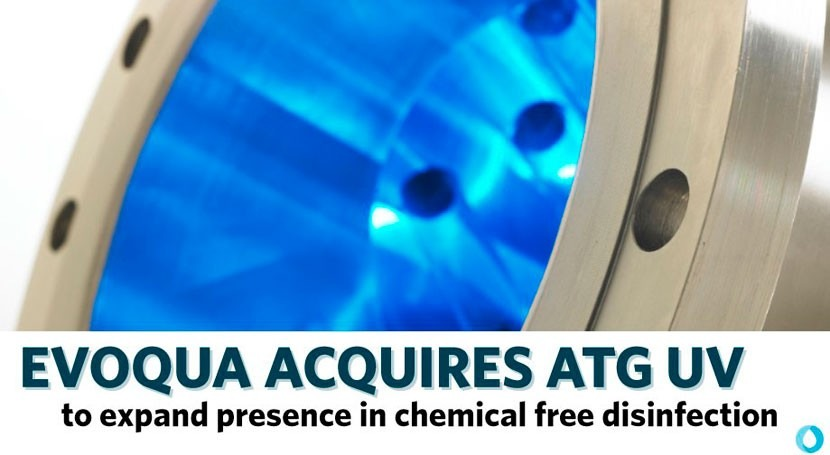 Evoqua acquires ATG UV