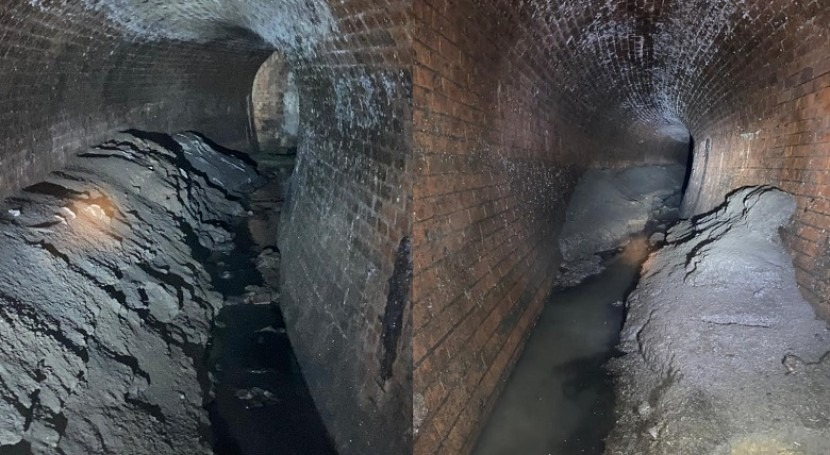 Bungalow-sized fatberg defeated in Canary Wharf sewer