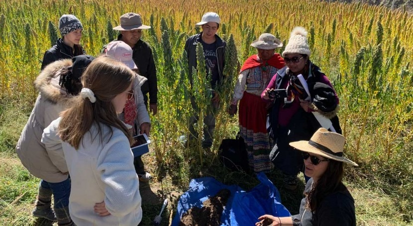 Purdue, Peruvian scientists at the nexus of food, water and energy research