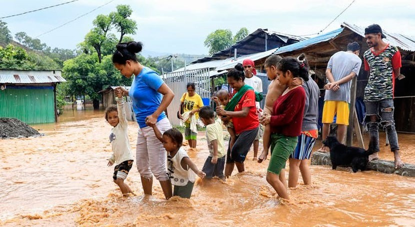 Double trouble: floods and COVID-19 have merged to pose great danger for Timor-Leste