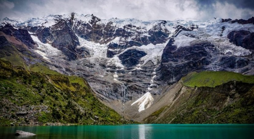 Glaciers are melting and air pollution is the cause