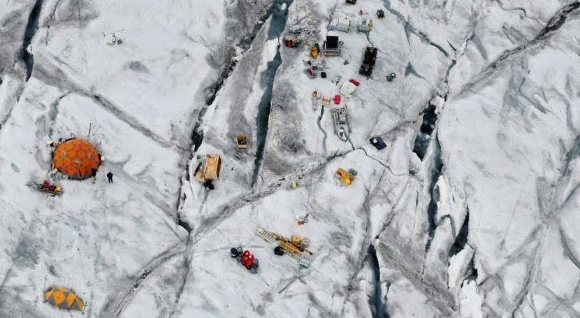 Fibre-optics used to take the temperature of Greenland Ice Sheet