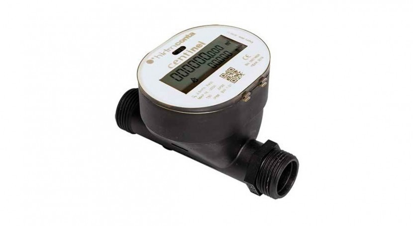 Hidroconta's Centinel water meter, ideal for drinking water systems