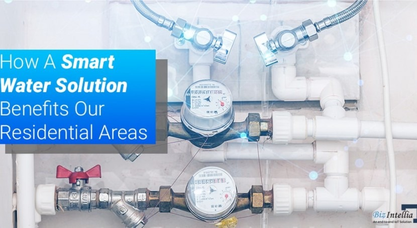 How smart water solution benefits our residential areas
