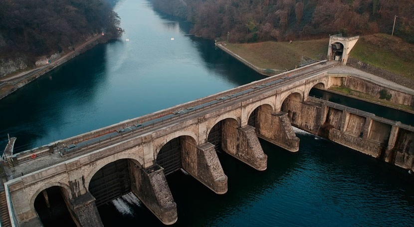 Coastal ecosystems suffer from upriver hydroelectric dams
