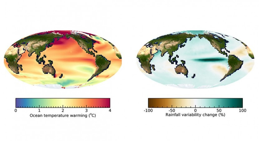 Future ocean warming boosts tropical rainfall extremes