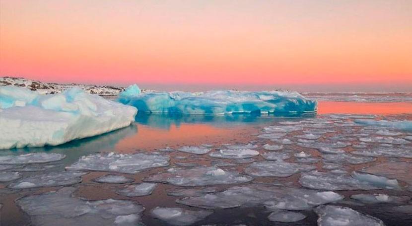 Icebergs delay Southern Hemisphere future warming