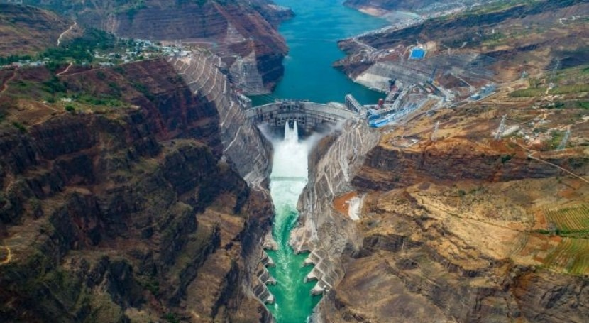 Baihetan Hydropower Station: Main structure of world's 2nd largest hydropower station completed