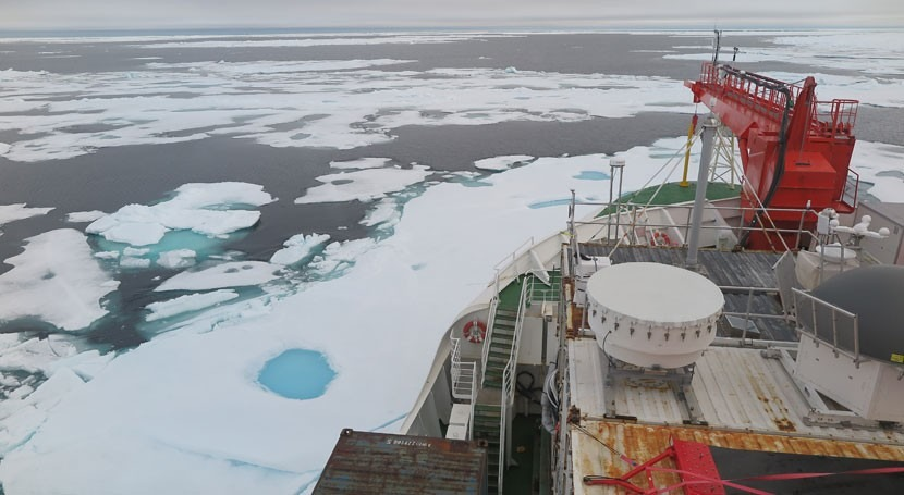 Last ice-covered parts of summertime Arctic Ocean vulnerable to climate change