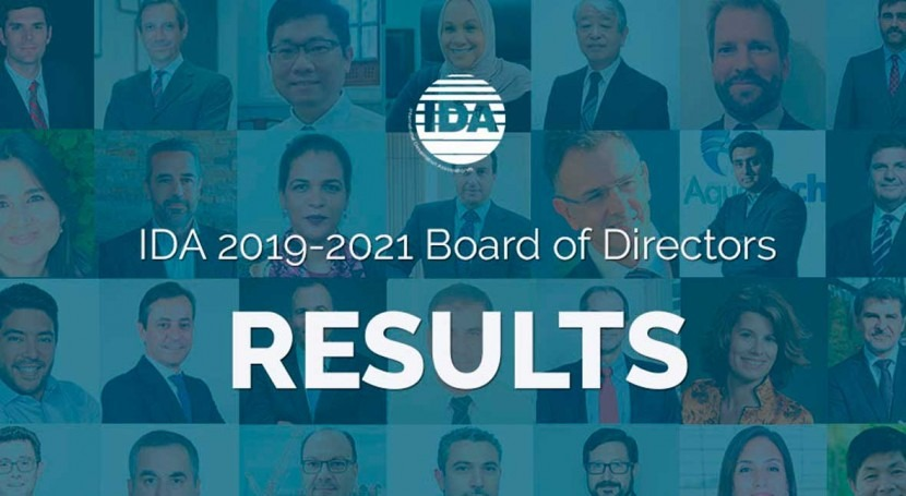 International Desalination Association elects 2019-2021 Board of Directors