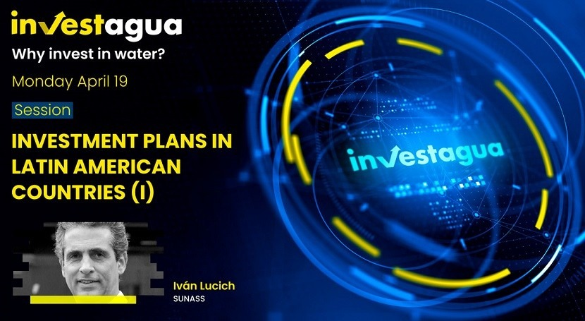 Iván Lucich (SUNASS) announces 18 projects worth €2 billion at INVESTAGUA