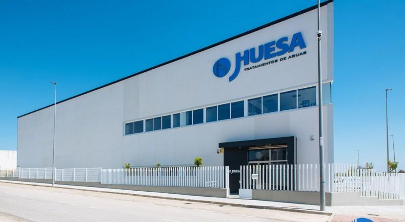 J.Huesa inaugurates new water treatment facilities