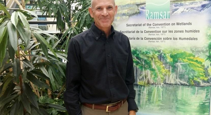 Ramsar appoints Jay Aldous as Deputy Secretary General